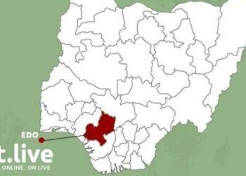Edo state Map