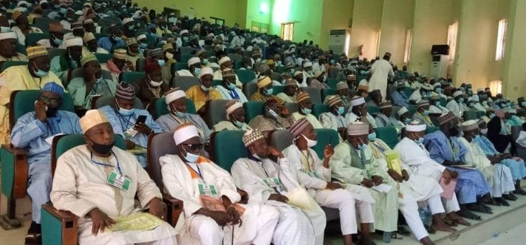 Governor Masari urges Islamic leaders in Katsina state to support government efforts against banditry.