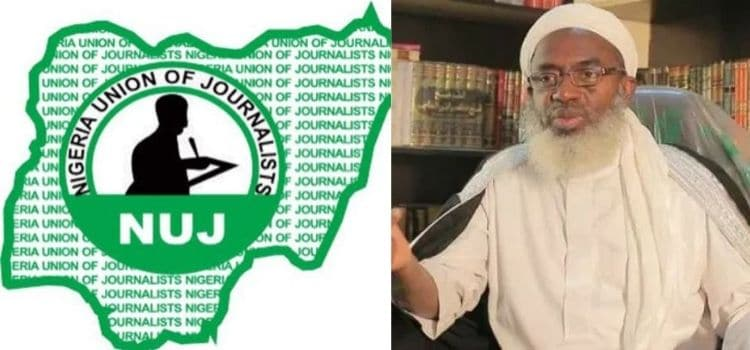 NUJ condemns Shiekh Gumi for labeling Journalists as criminals | AIT LIVE