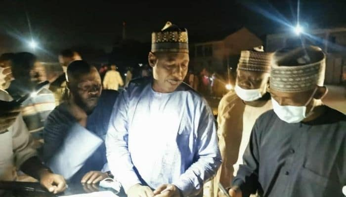 Borno State Governor, discovers 650 ghost households at IDP camp | AIT LIVE
