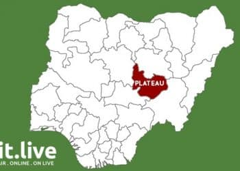 Plateau State Map